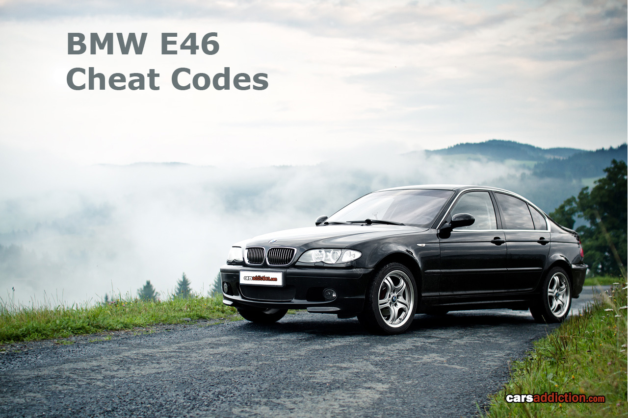 Tips and tricks to get the secret codes out of your BMW E46