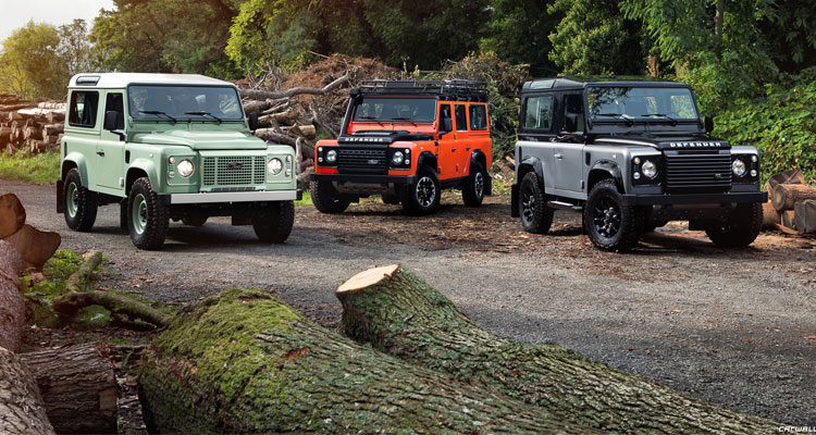 End of the line - Land Rover Defender