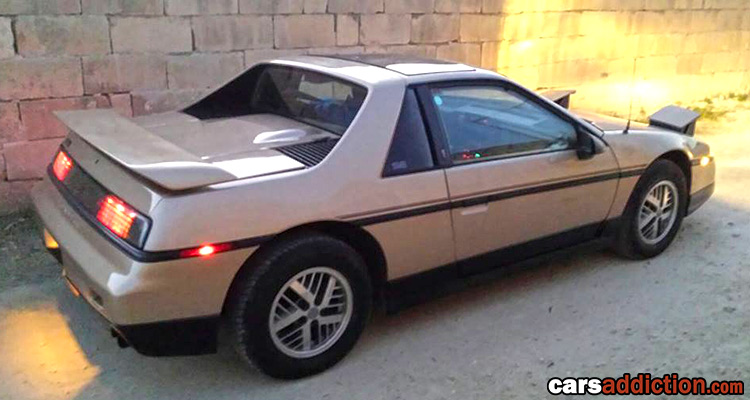 The 86 Pontiac Fiero in Malta