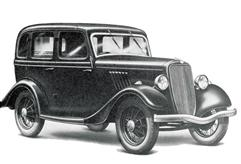 1933 Ford Y 8 HP Tudor Saloon