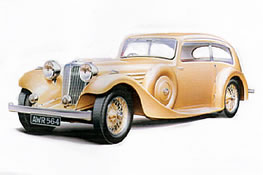1935 Jaguar SS1 Airline Saloon